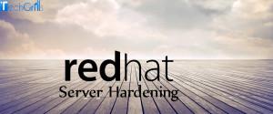 redhat server hardening